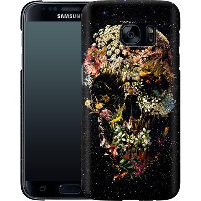 Samsung Galaxy S7 Smartphone Huelle - Smyrna Skull von Ali Gulec