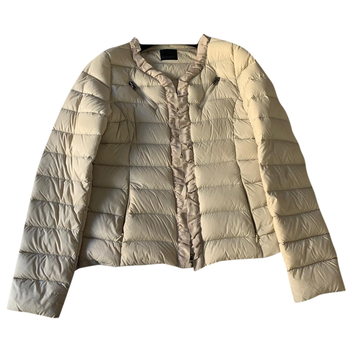 Pinko \N Beige jacket for Women 44 IT