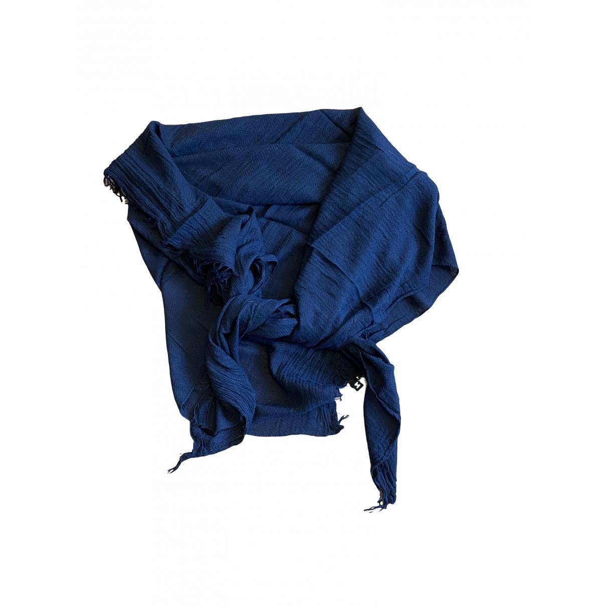 Versace \N Schal in  Marine Baumwolle