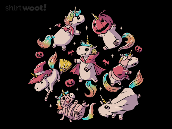 Halloween Unicorns T Shirt