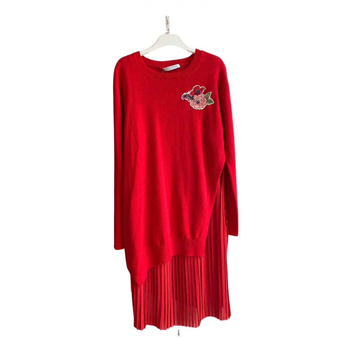 Vivetta - Robe   pour femme en laine - rouge