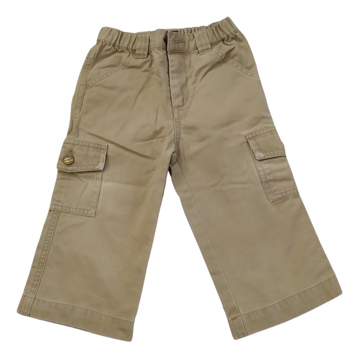 Gant - Pantalon   pour enfant en coton - beige