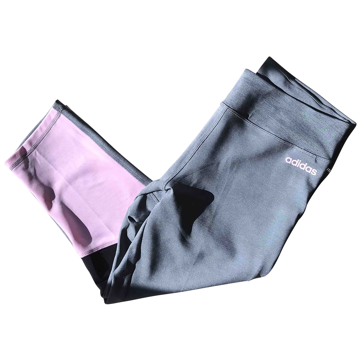 Adidas \N Grey Trousers for Women L International