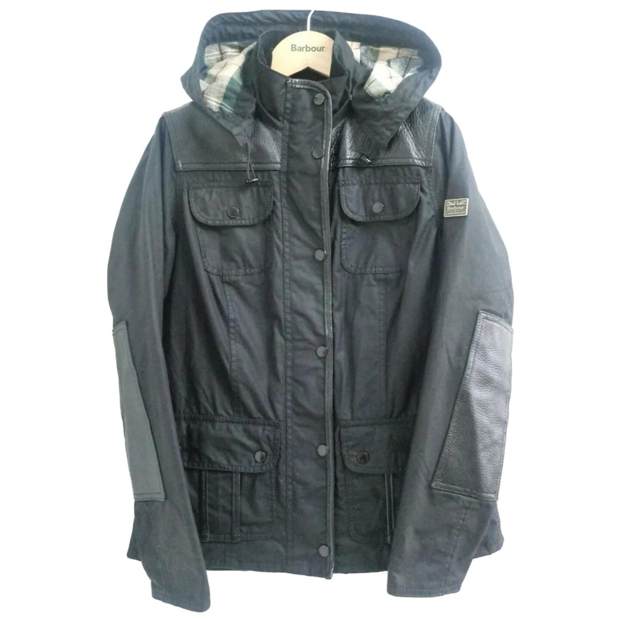 Barbour \N Black Cotton coat for Women 10 UK