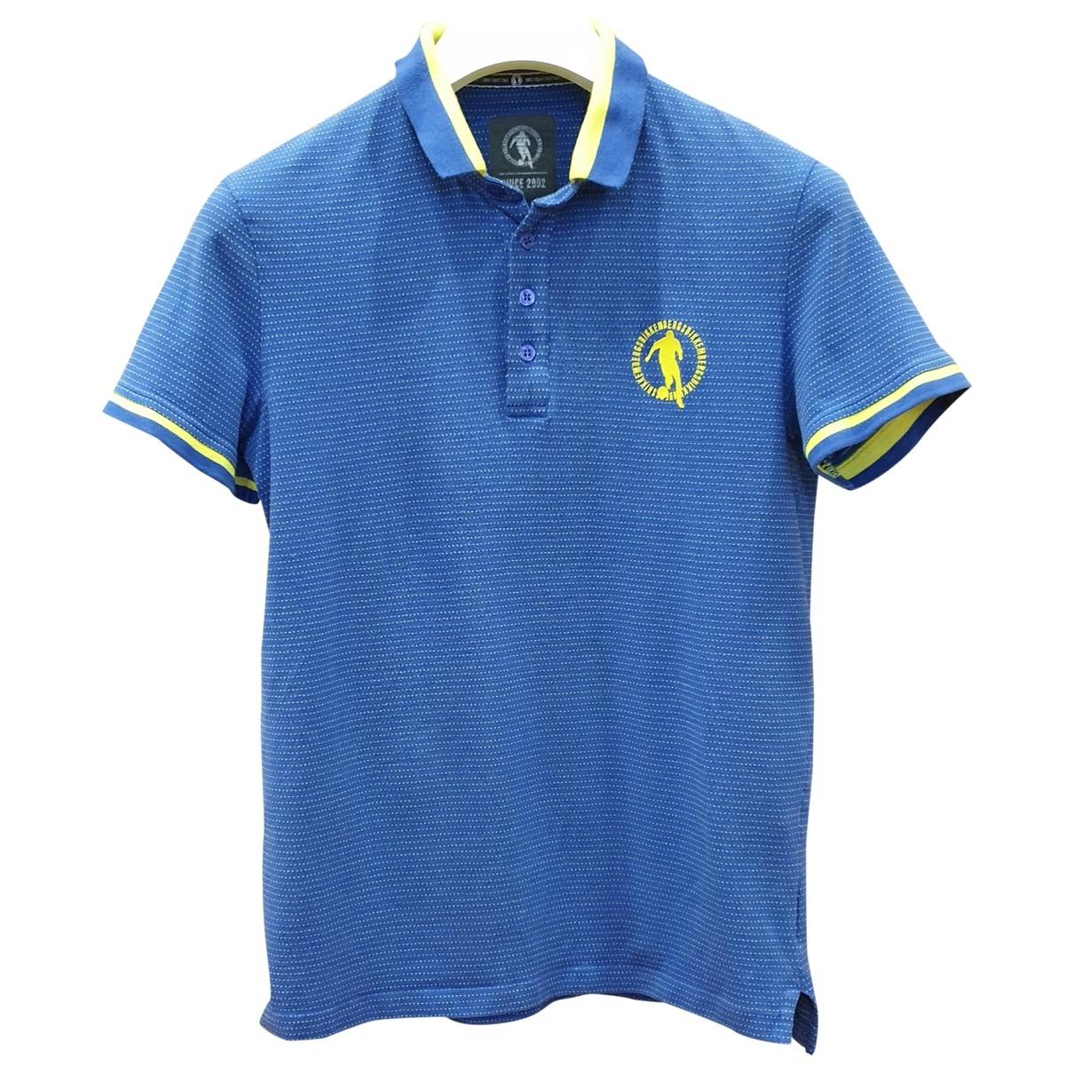 Dirk Bikkembergs \N Poloshirts in  Blau Baumwolle
