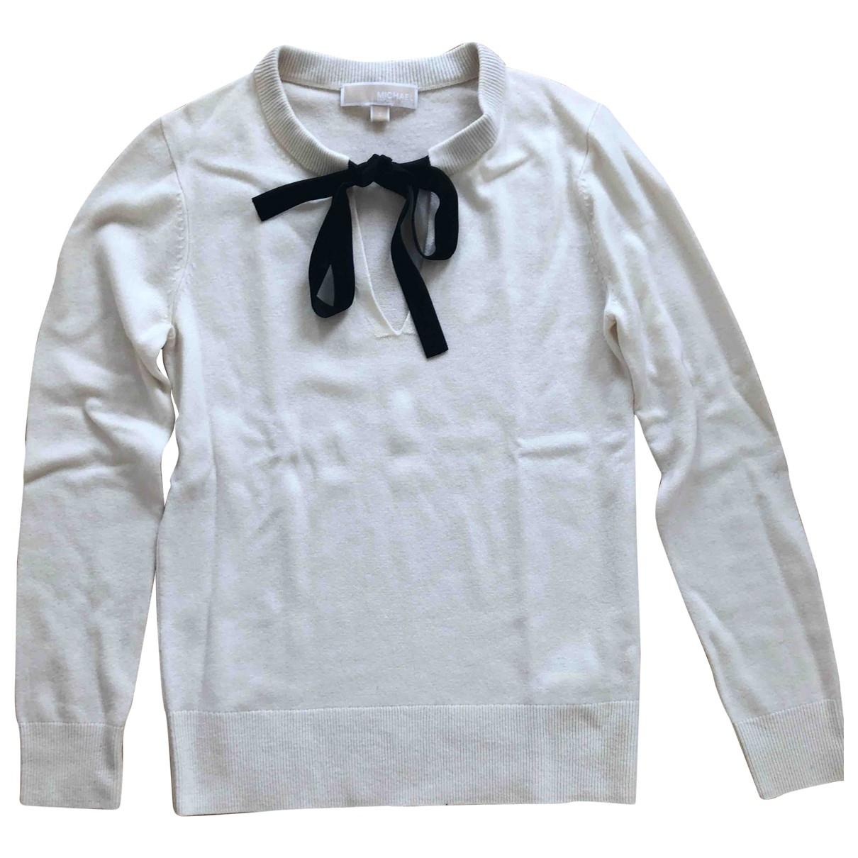 Michael Kors - Pull   pour femme en laine - beige
