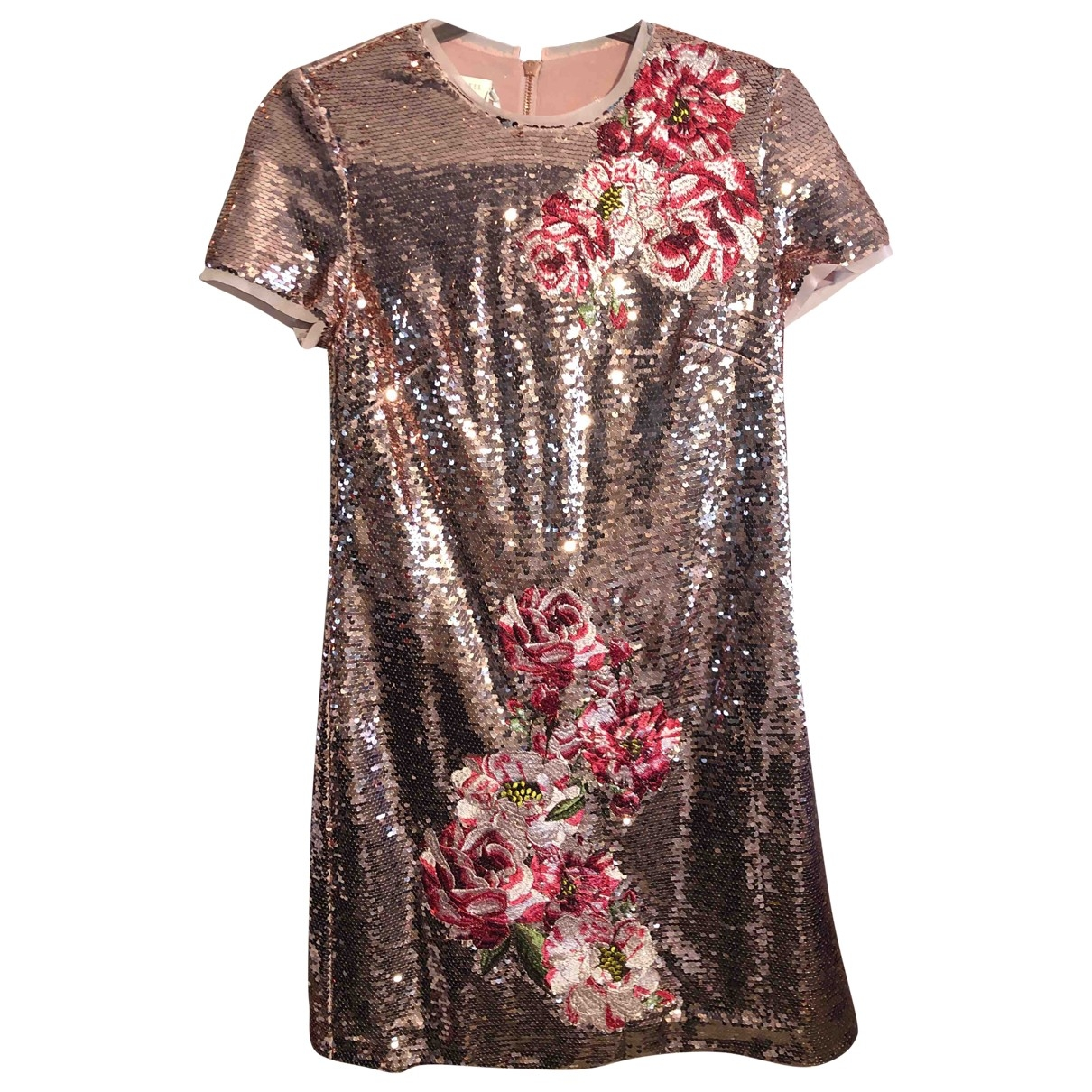 Ted Baker \N Kleid in  Rosa Mit Pailletten