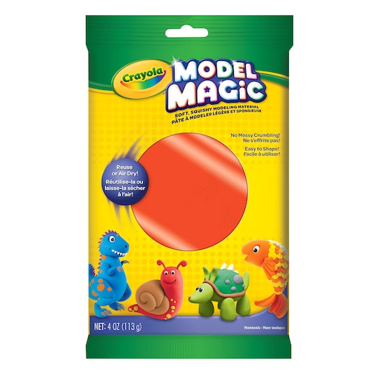 Crayola® Model Magic® Neon Single ct By Crayola Model Magic in Neon Red | 4 oz | Michaels®