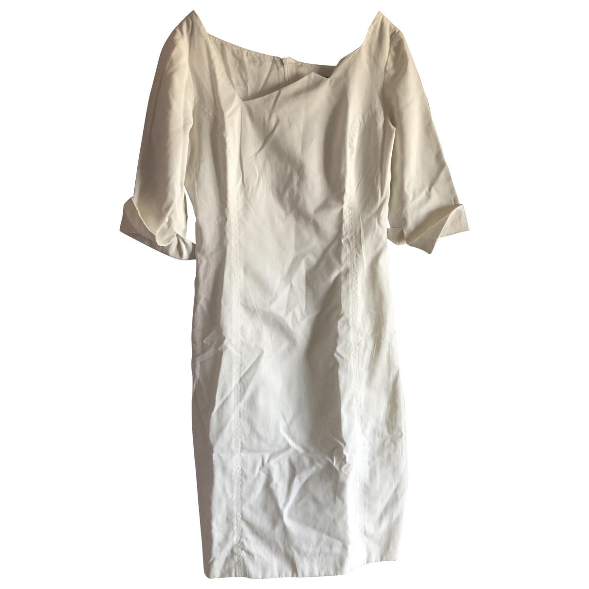 Versace \N Kleid in  Weiss Polyester