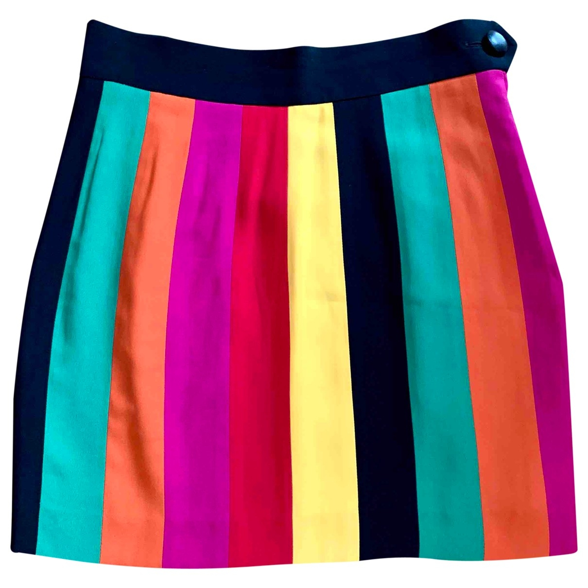 Moschino \N Multicolour Silk skirt for Women 44 IT