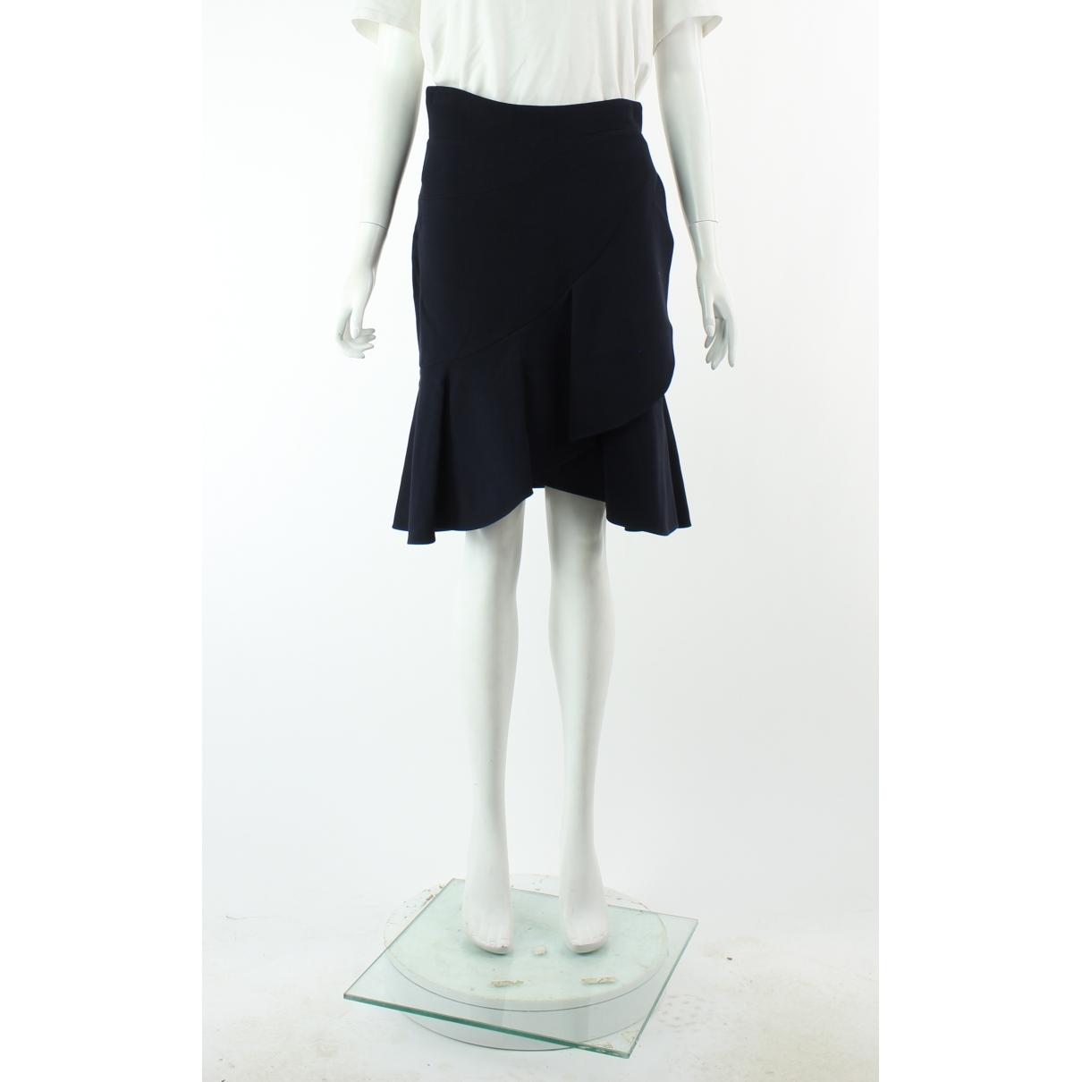 Alexander Mcqueen \N Navy skirt for Women 42 IT