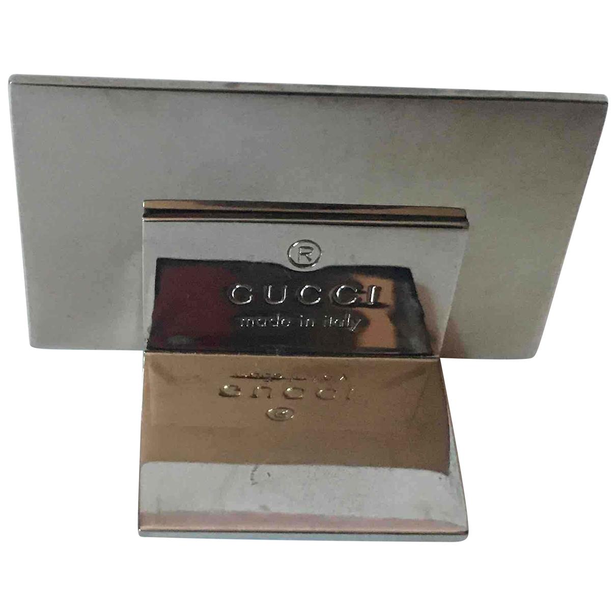 Gucci - Objets & Deco   pour lifestyle en acier - argente