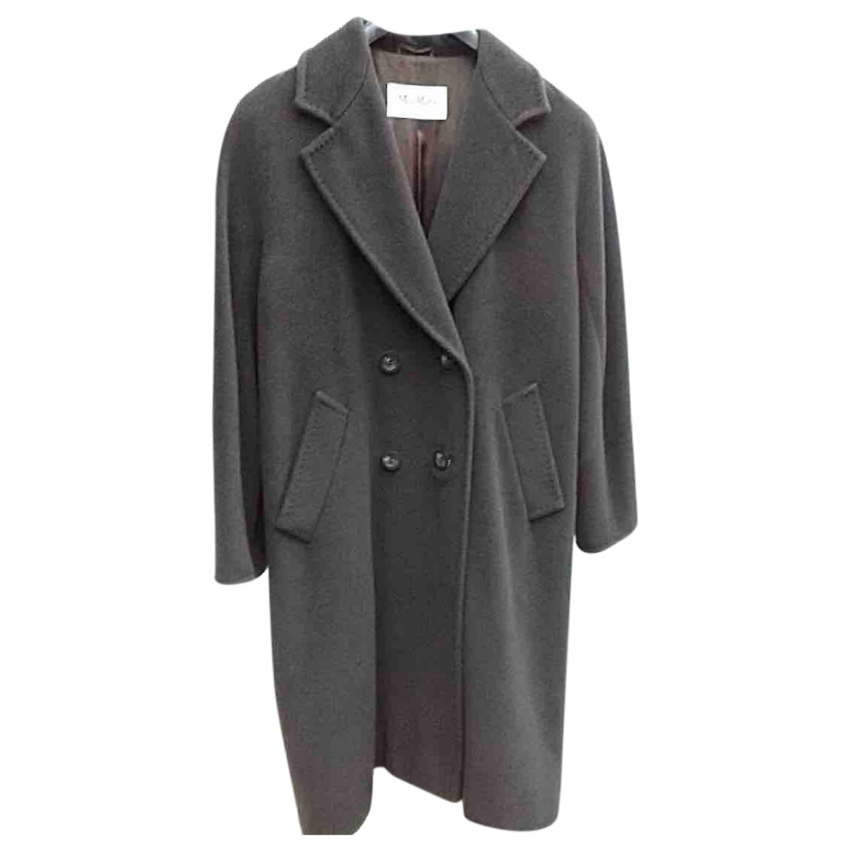 Max Mara 101801 Brown Wool coat for Women 38 FR