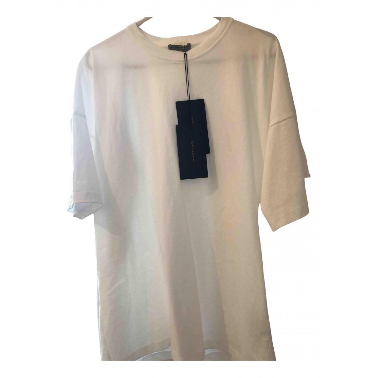 Bottega Veneta - Tee shirts   pour homme en coton - blanc