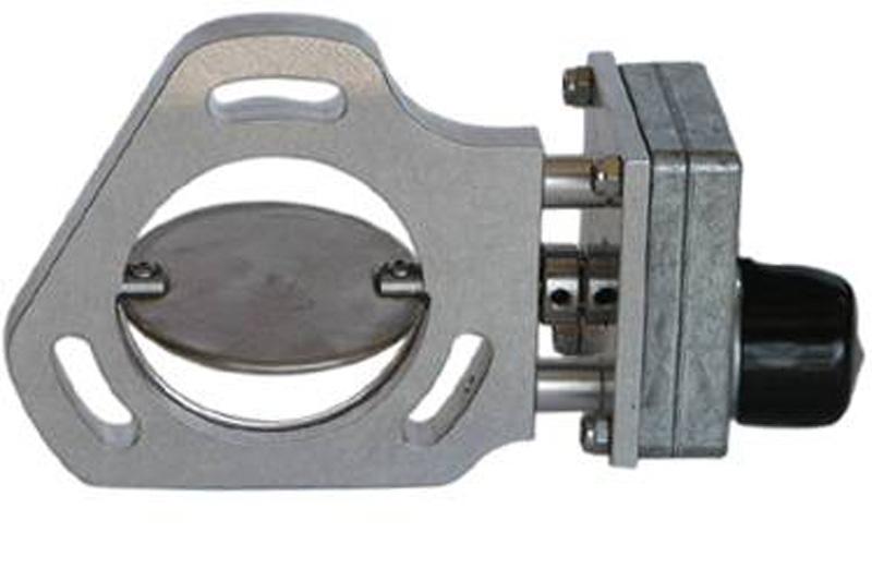 Pypes Exhaust HVE11 Exhaust Electric Dump Cutout Aluminum/Stainless Steel
