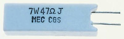 TE Connectivity 15kΩ Metal Oxide Resistor 7W ±5% SQMR715KJ (5)