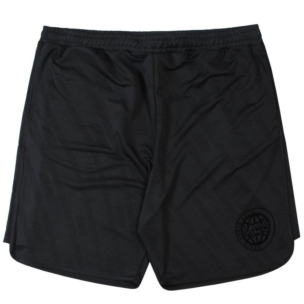 Mcq Alexander Mcqueen Mcq Graphic Print Shorts Colour: BLACK, Size: SMALL