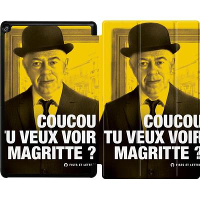 Amazon Fire HD 10 (2017) Tablet Smart Case - Tu Veux Voir Magritte von Fists Et Lettres