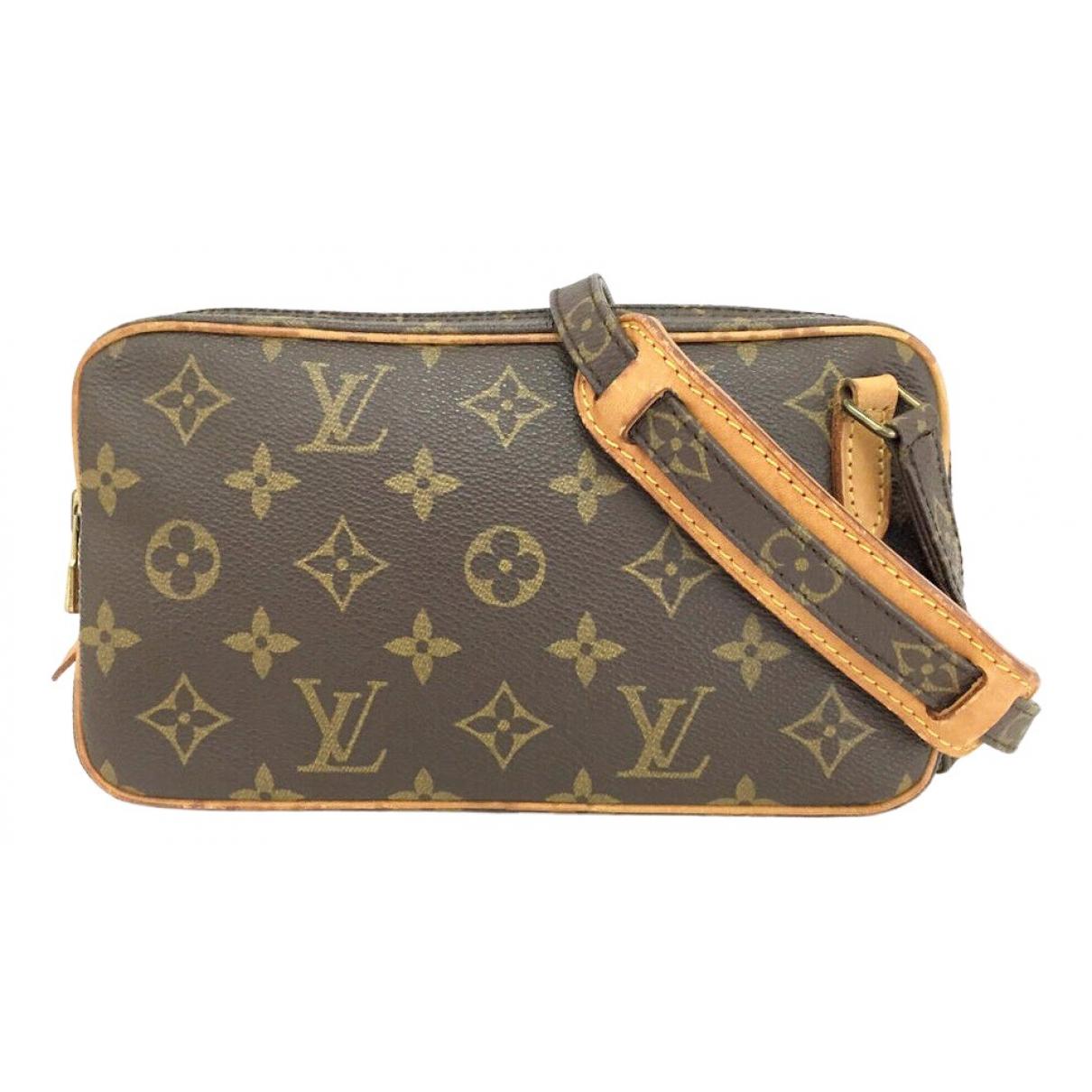 Louis Vuitton Marly Dragonne  Brown Cloth handbag for Women \N