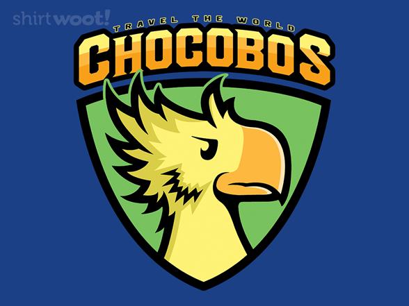 Go Chocobos Go T Shirt