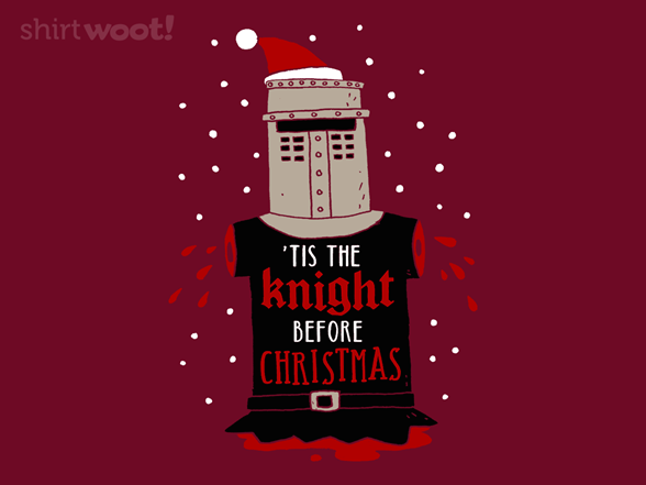 Christmas Knight T Shirt