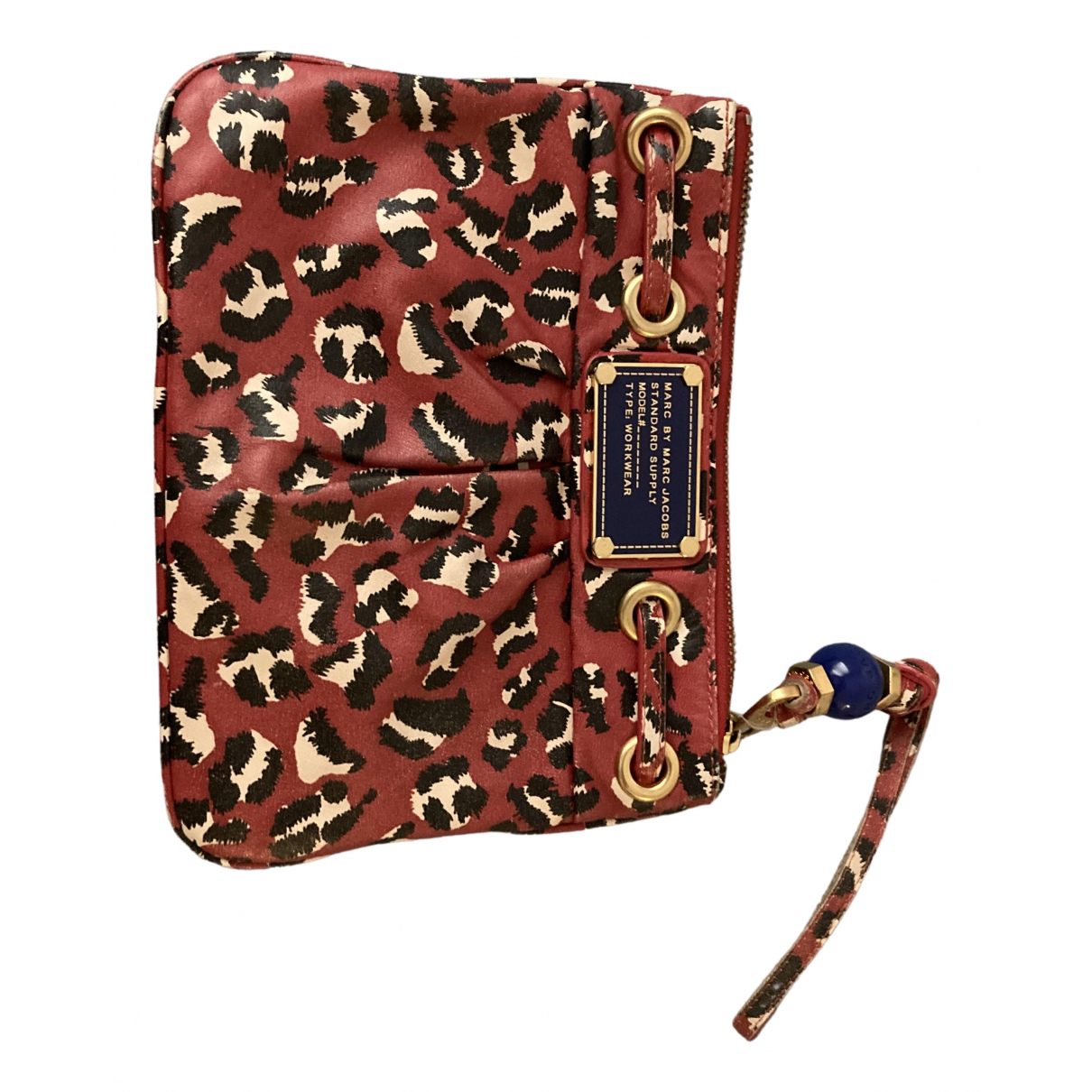 Marc By Marc Jacobs \N Clutch in  Rot Synthetik