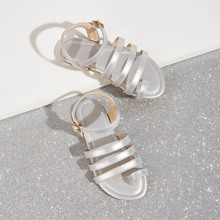 Toddler Girls Toe Ring Strappy Sandals