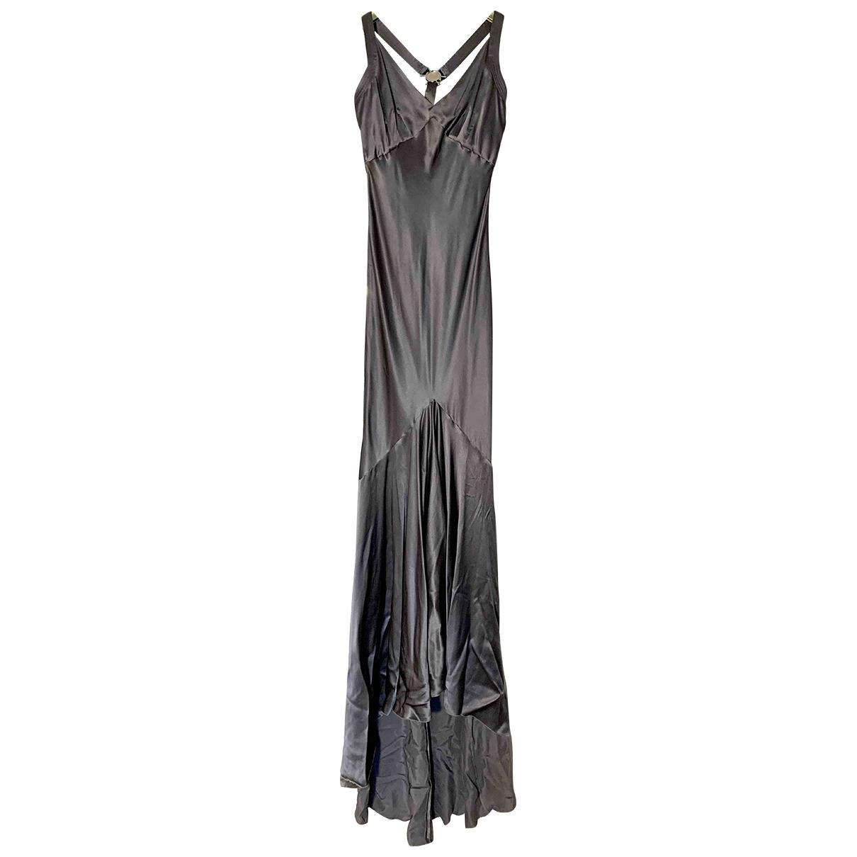 Maxi vestido de Seda Versace