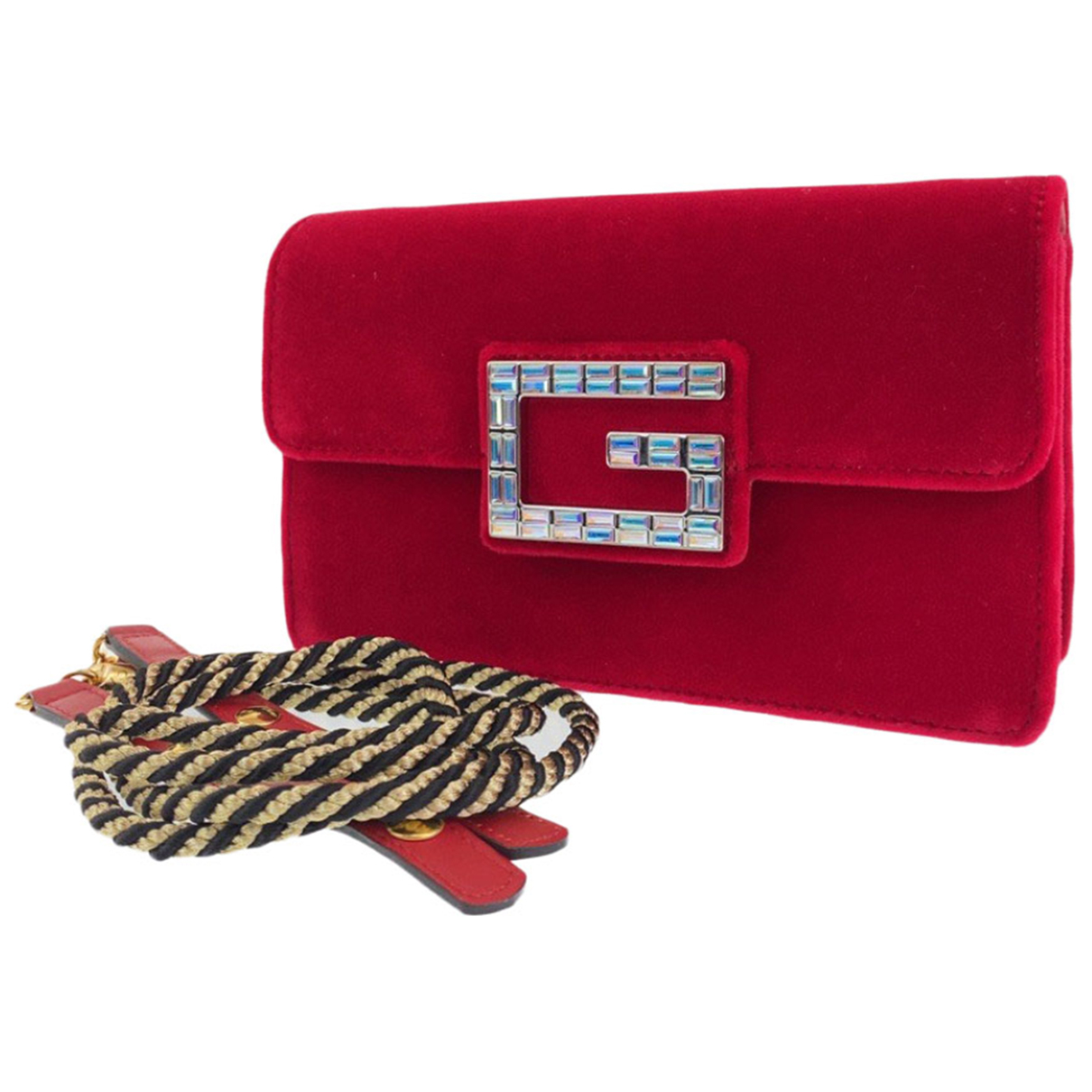 Gucci \N Handtasche in Samt