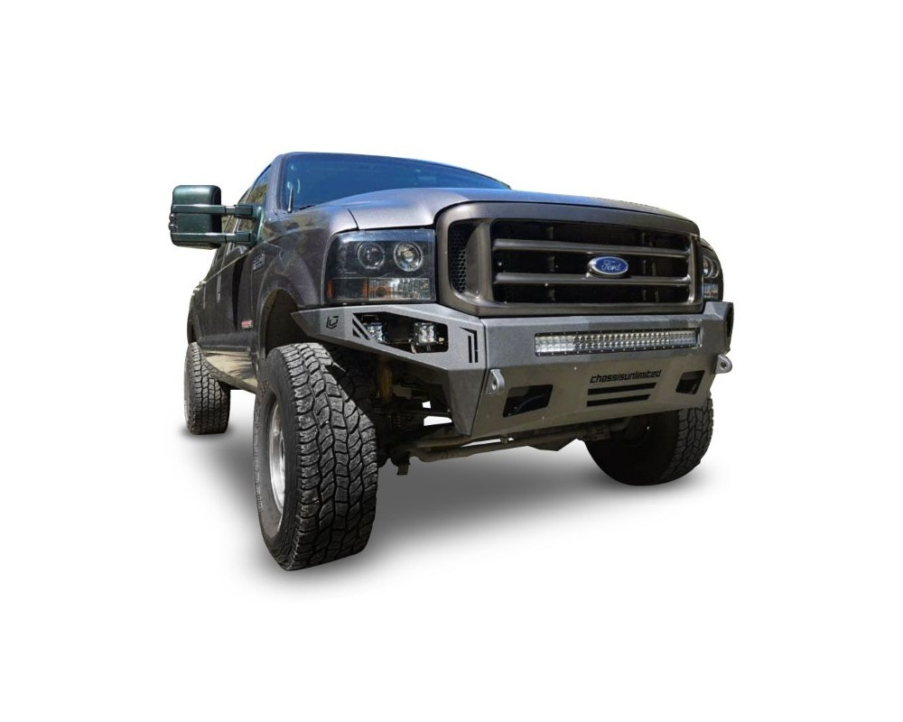 Chassis Unlimited CUB900181 Superduty Front Bumper For 99-04 Ford F-250/F-350 Superduty Octane Series