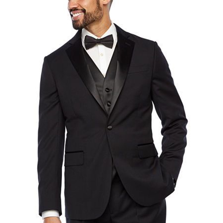 Stafford Tuxedo Jacket, 42 Long, Black