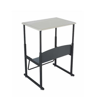 AlphaBetter® Height Adjustable Stand-Up Desk with Swinging Footrest Bar