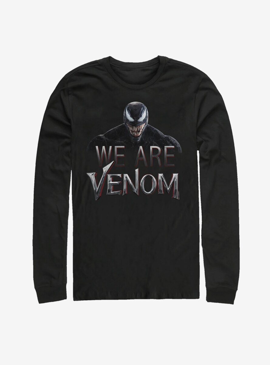Marvel We Are Venom Film Logo Long Sleeve T-Shirt
