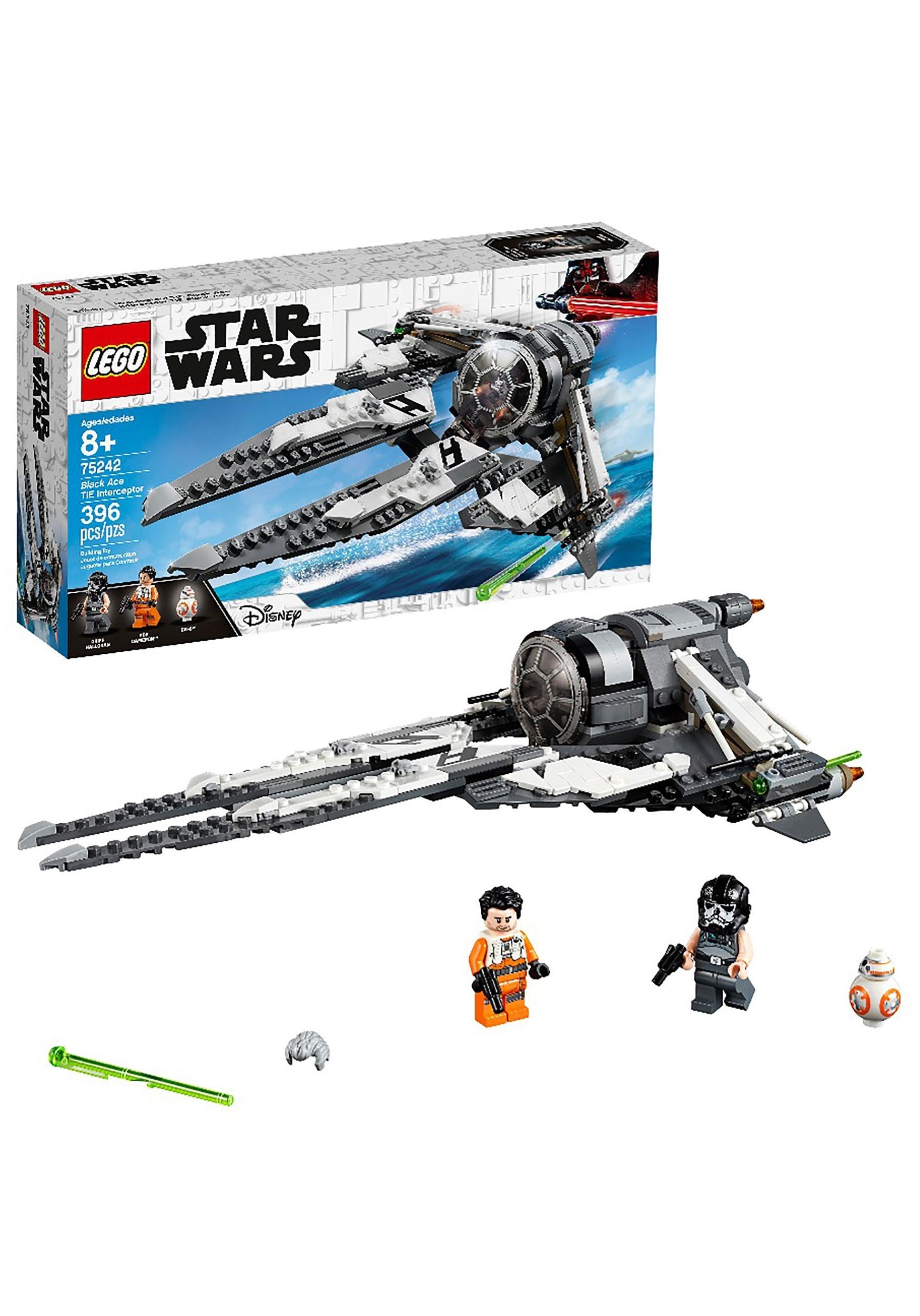 Black Ace TIE Interceptor LEGO Star Wars