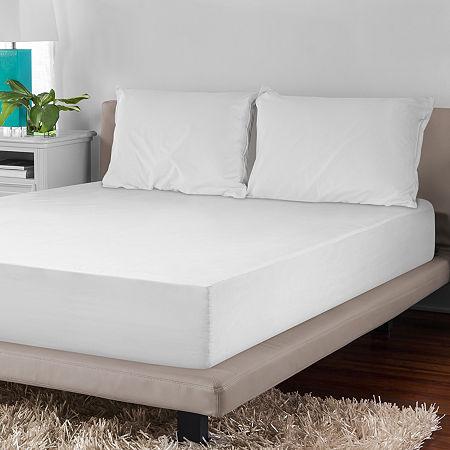 SensorPEDIC Mattress Encasement & Pillow Protector Set, One Size , White