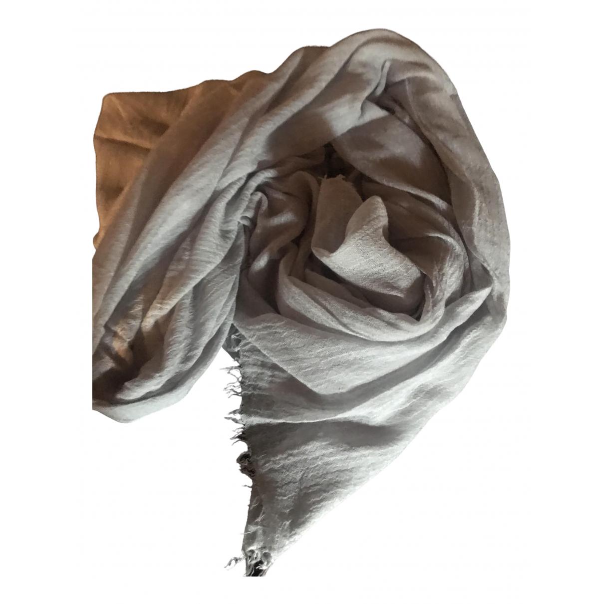 Zara N Grey Cotton scarf for Women N