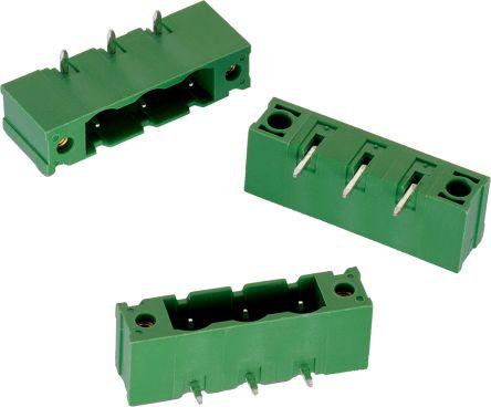 Wurth Elektronik , WR-TBL, 3174, 7 Way, 1 Row, Horizontal PCB Header (125)