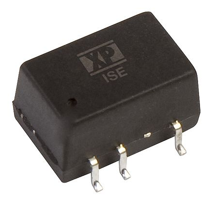 XP Power ISE 1W Isolated DC-DC Converter Surface Mount, Voltage in 13.5 → 16.5 V dc, Voltage out 15V dc