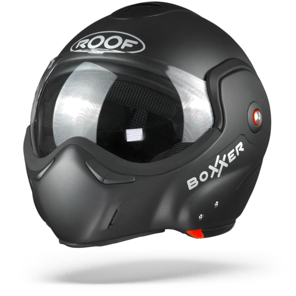 ROOF BoXXer Darkside Casque Modulable Edition Limitee Graphite Mat 2XL