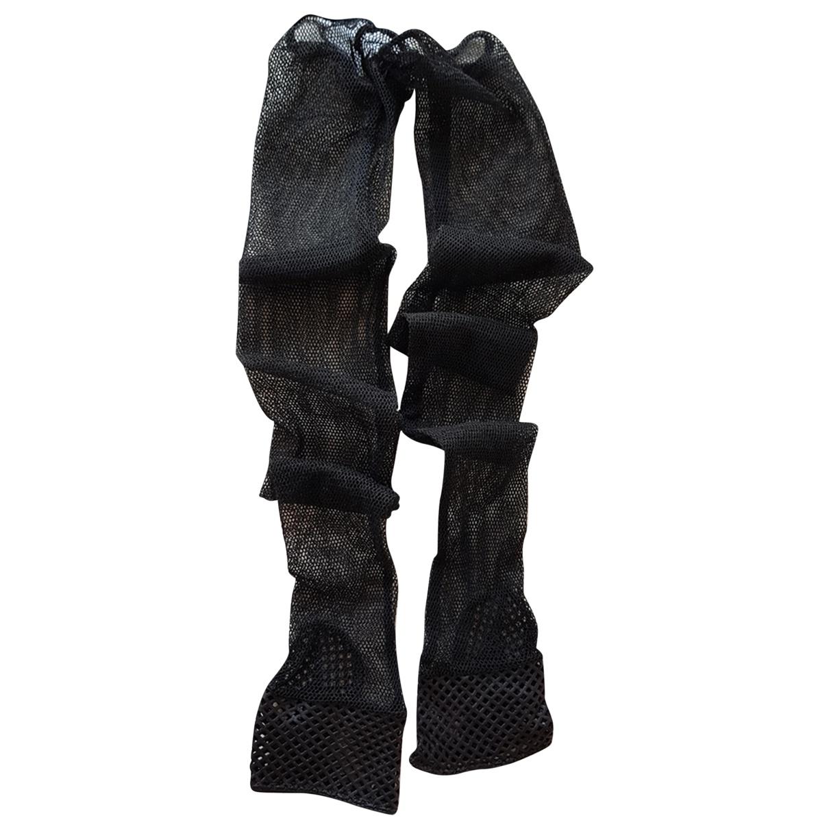 Chanel - Gants   pour femme en cuir - noir