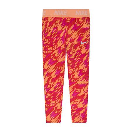 Nike Little & Big Girls Legging, 6x , Pink