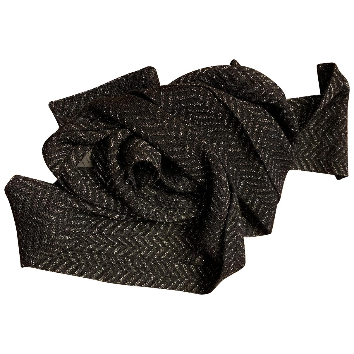 Faliero Sarti - Foulard   pour femme en laine - noir