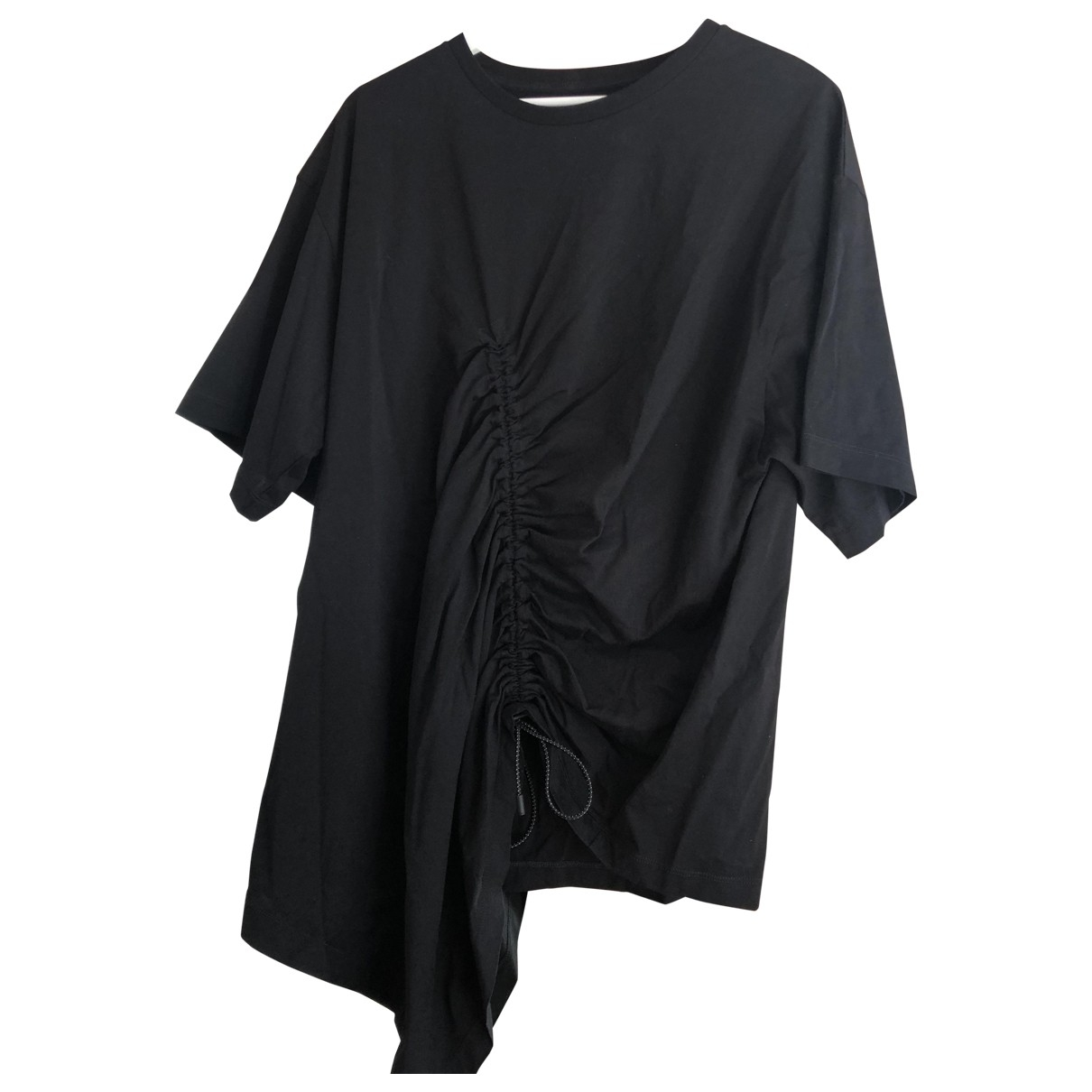Maison Martin Margiela \N Black Cotton T-shirts for Men L International