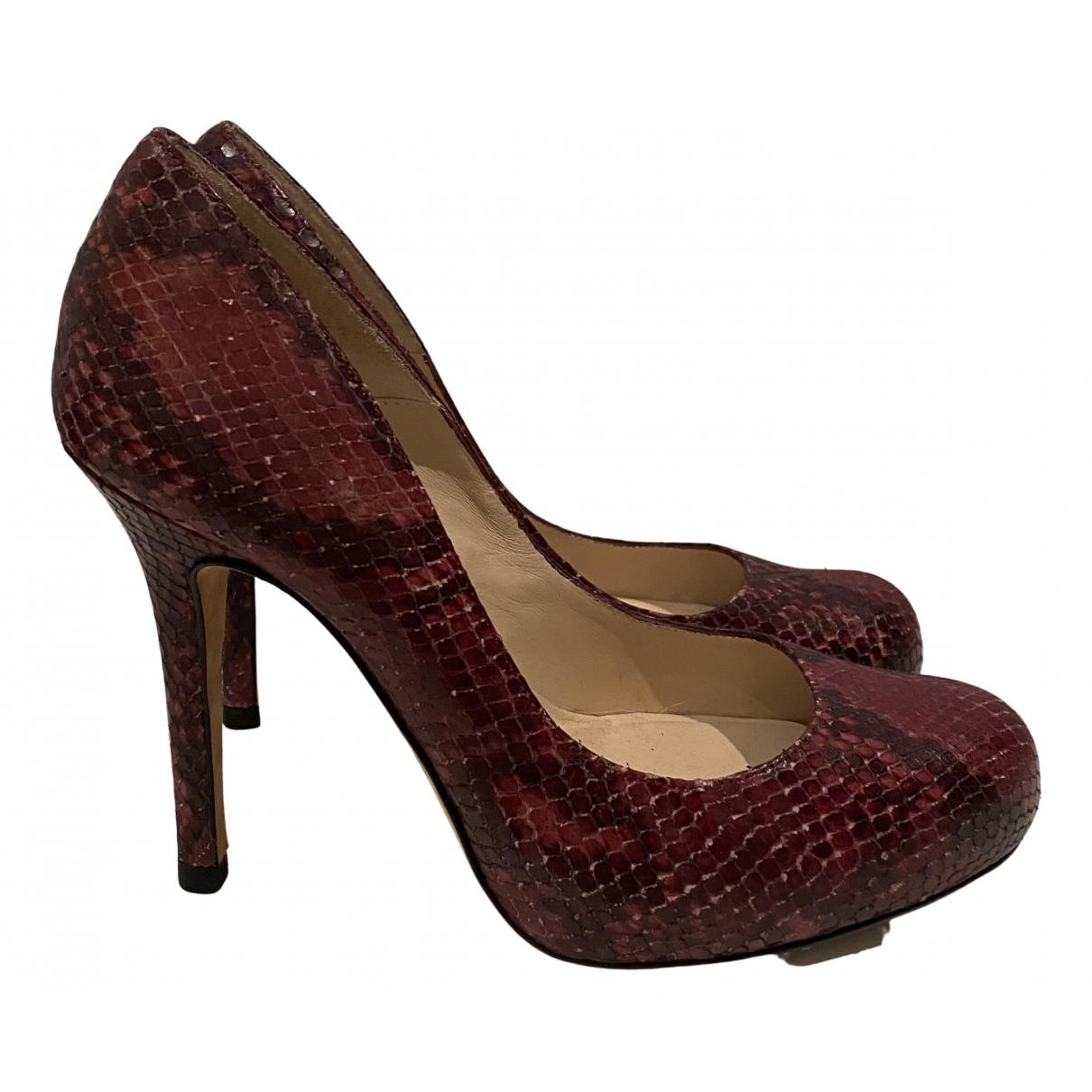 Lk Bennett - Escarpins   pour femme en cuir - multicolore