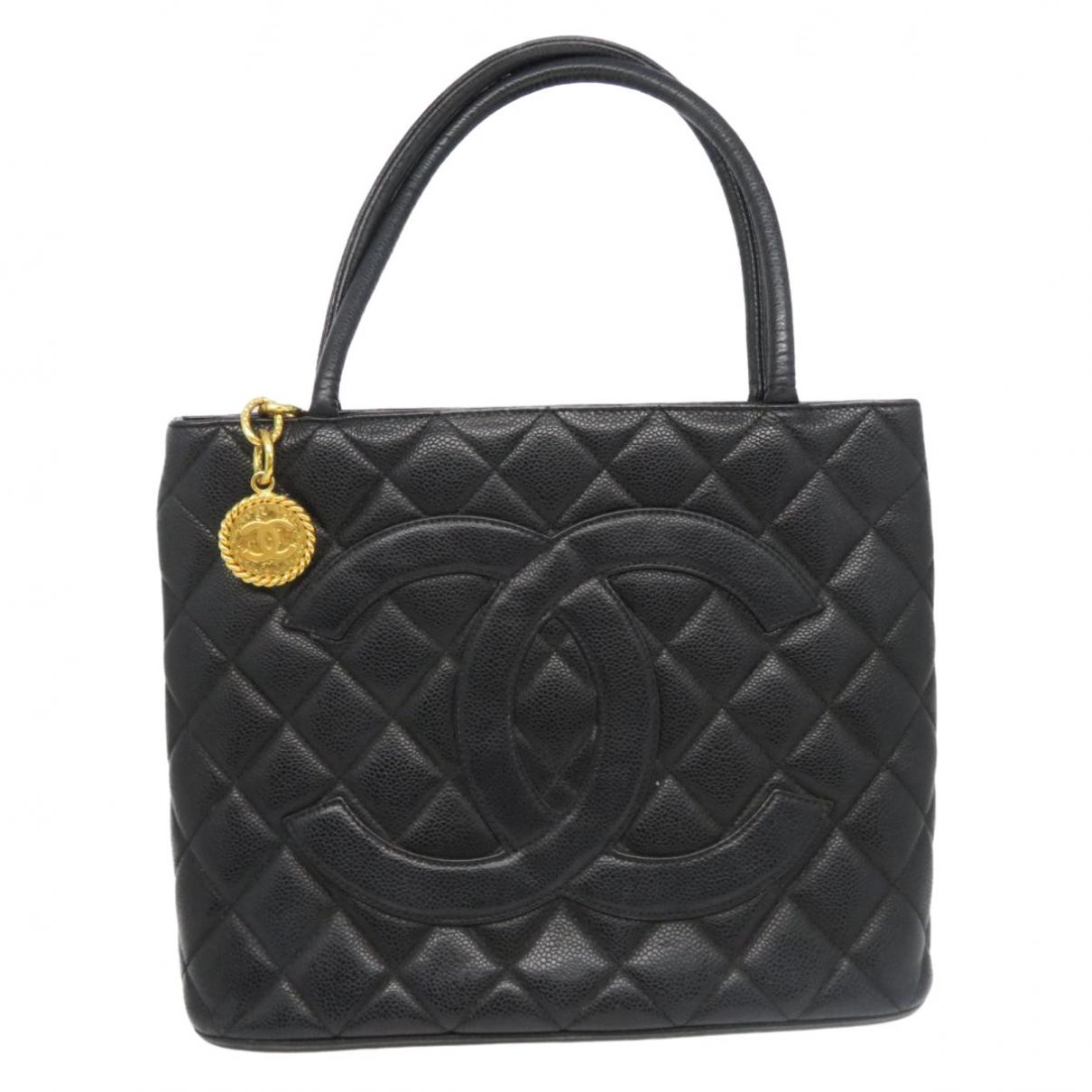 Bolso  Medaillon de Cuero Chanel