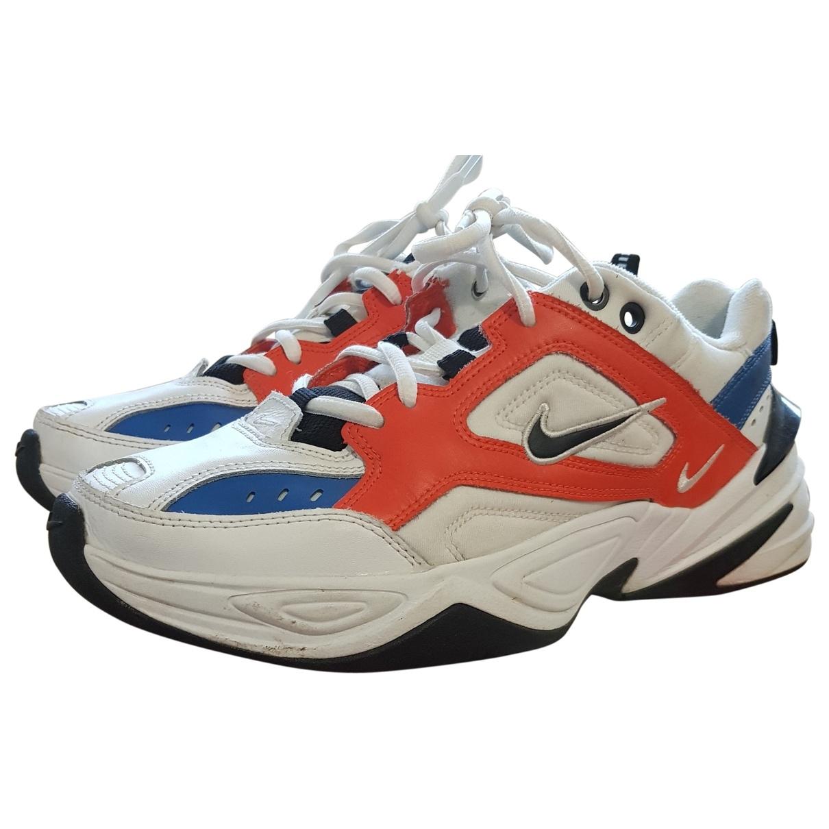 Nike - Baskets M2K Tekno pour homme en cuir - blanc