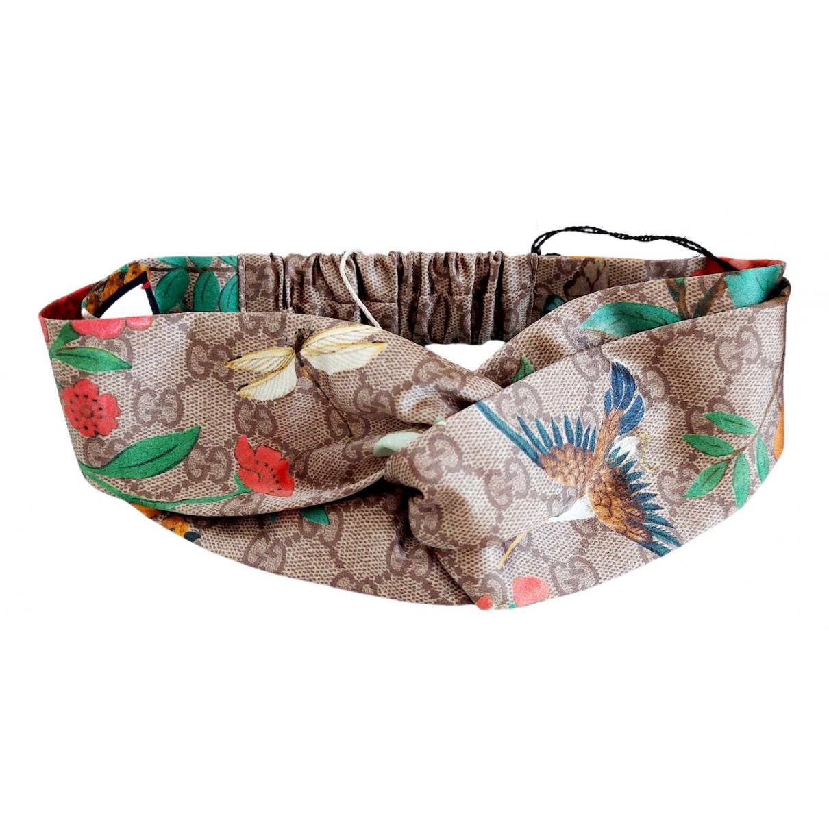 Gucci - Bijoux de tete   pour femme en soie - multicolore