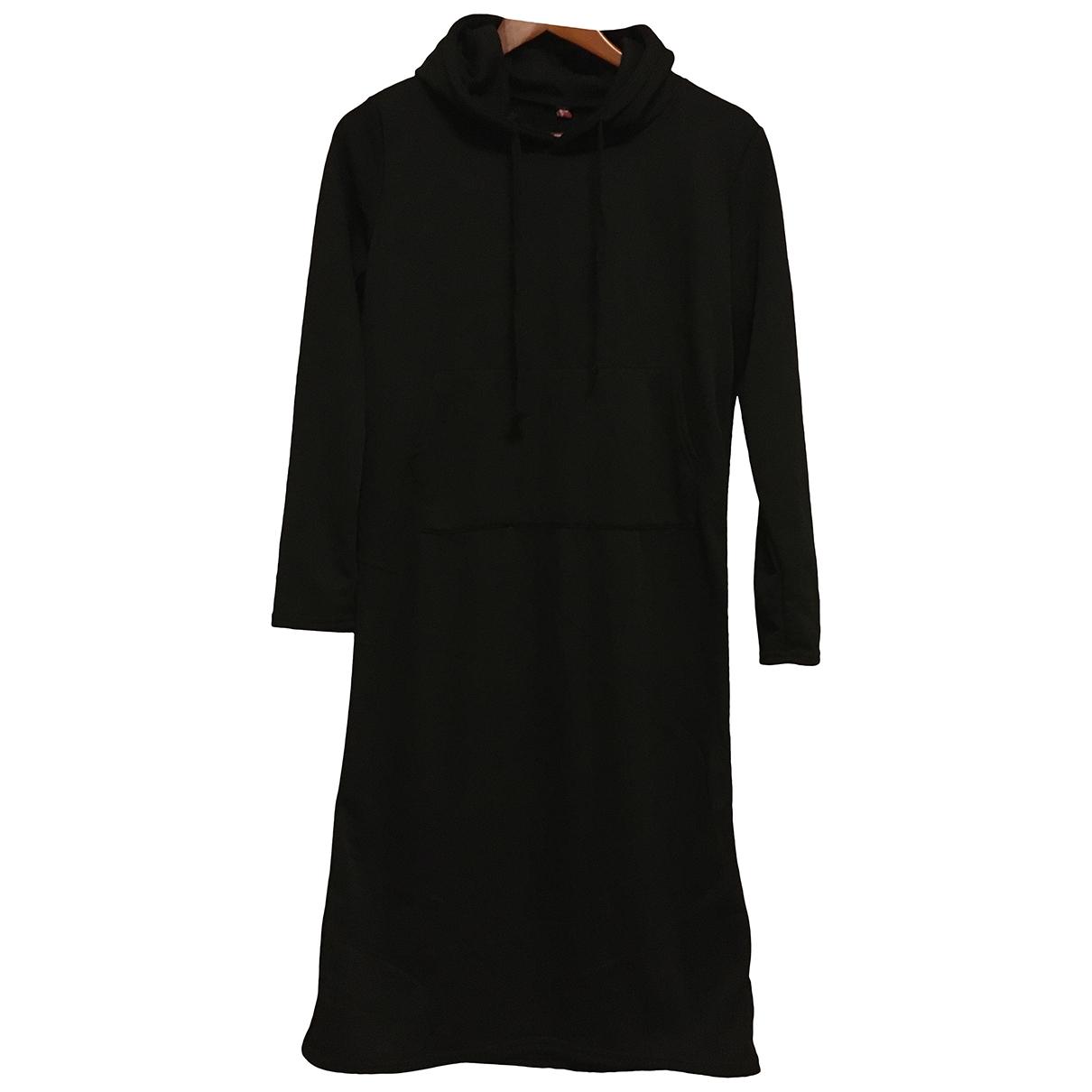 Saks Fifth Avenue Collection \N Kleid in  Schwarz Synthetik