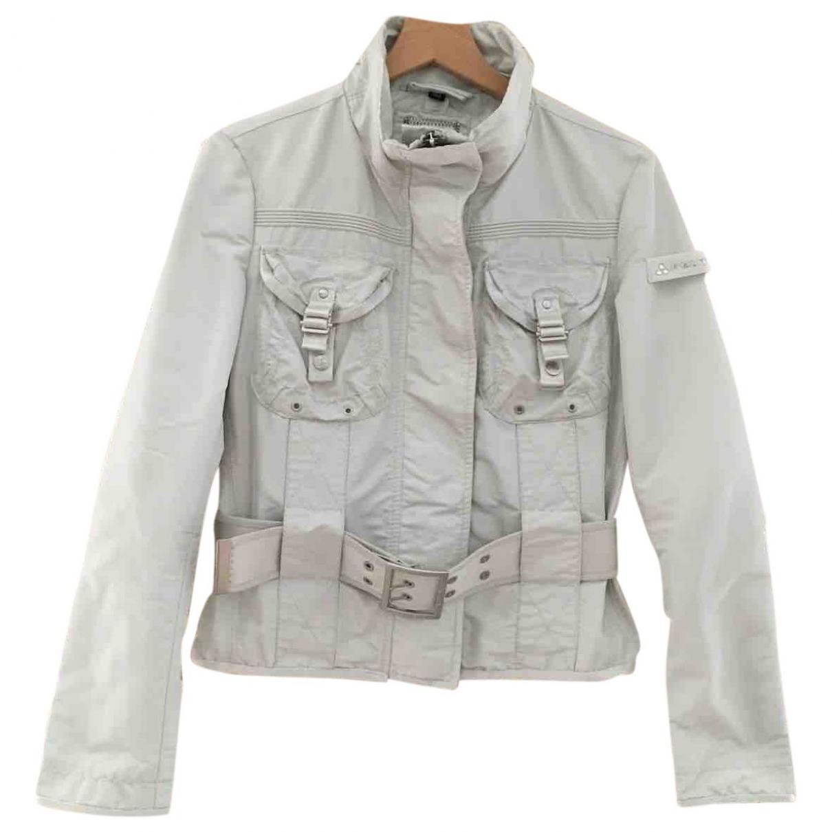 Peuterey \N Jacke in  Grau Polyester