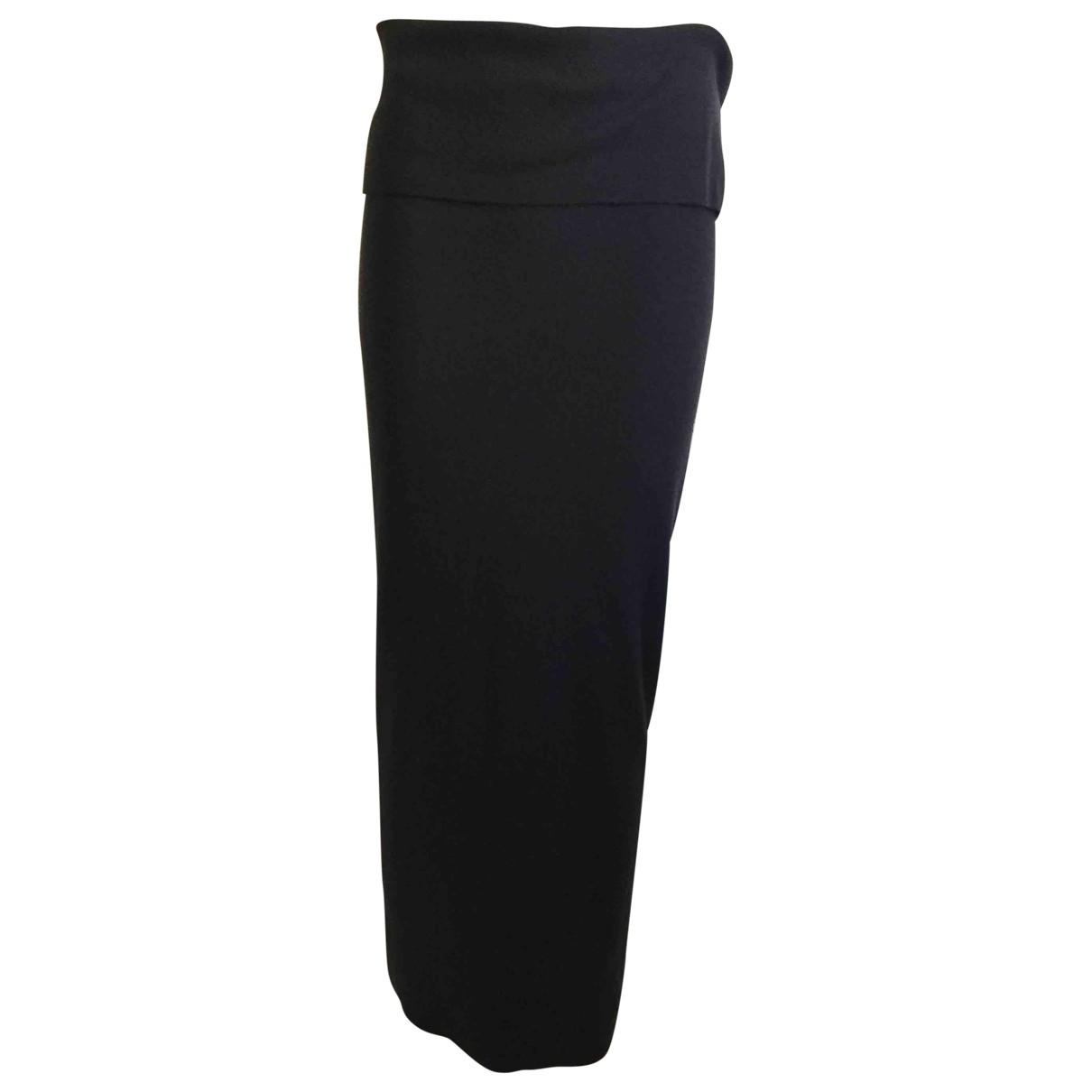 Donna Karan - Jupe   pour femme en cachemire - anthracite